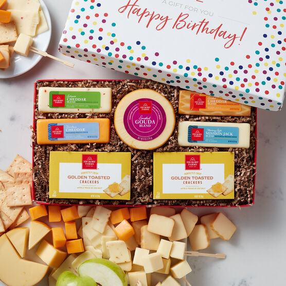Birthday Cheese Favorites Gift Box