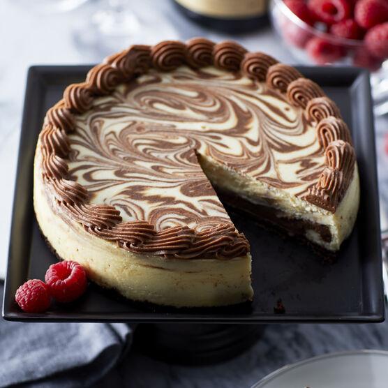 Alternate view of Marble Ganache Cheesecake