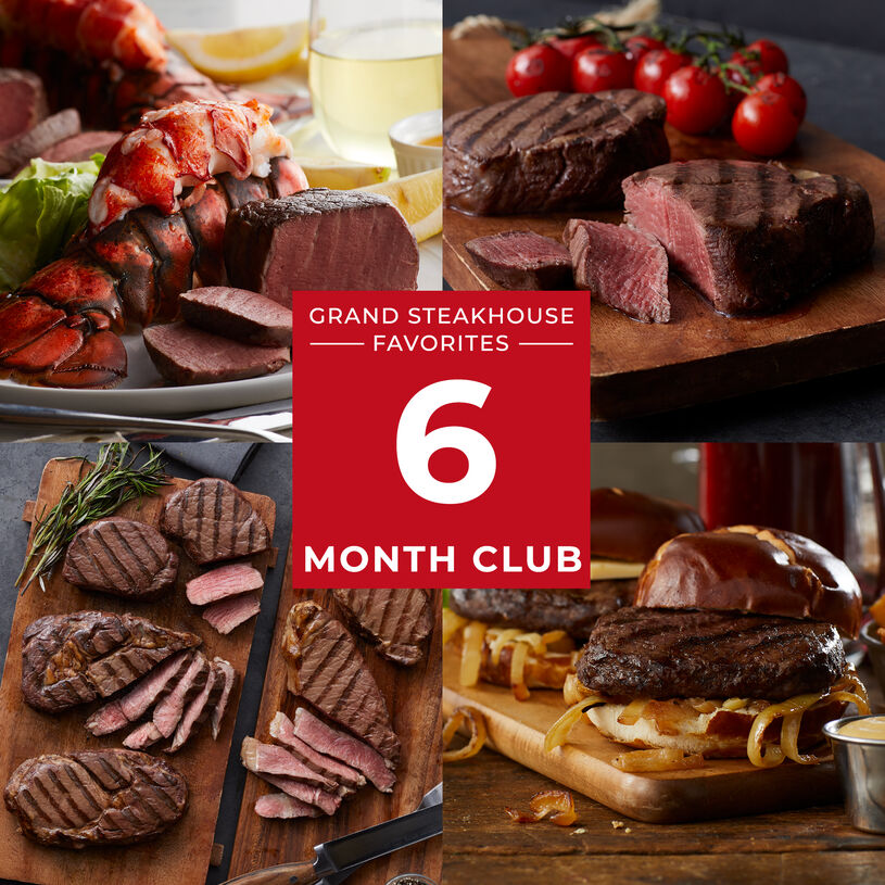 6 Month Grand Steakhouse Favorites Gift Club