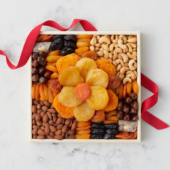 Flower Dried Fruit Tray