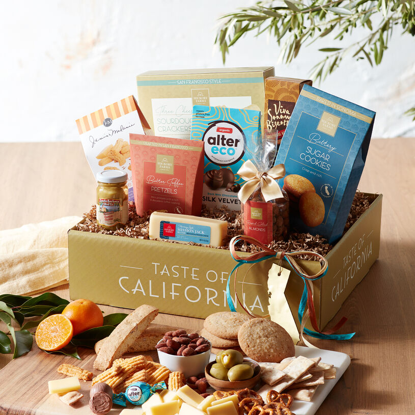 Favorite flavors expertly curated from California are what make this gift box extra special!