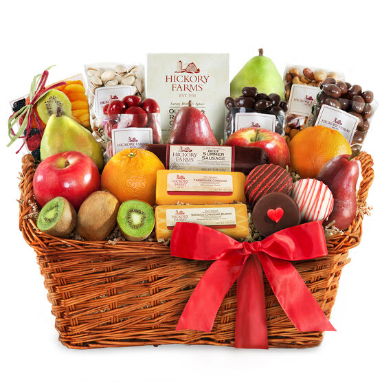 Bountiful Valentine's Day Tastings Basket