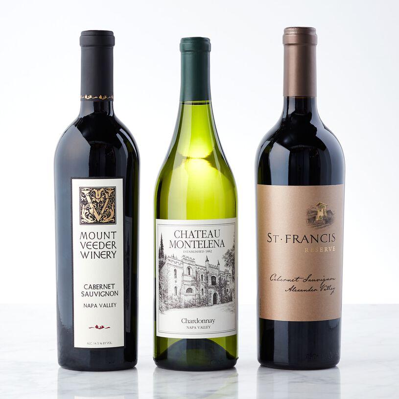 Napa Valley Wine Gift Trio