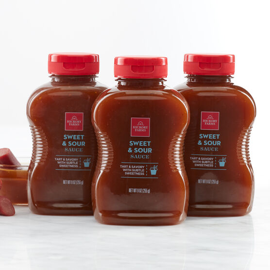Our Sweet & Sour Sauce is the perfect blend of tang and sweet to add bold flavor to any dish.