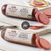 Beef Summer Sausage & Turkey Summer Sausage Combo