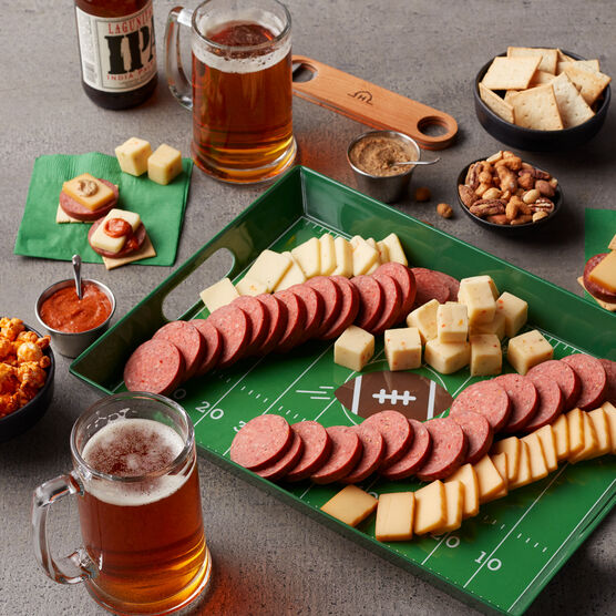 Game Day Entertaining Gift Set Charcuterie and Beer