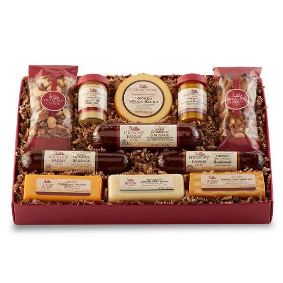 christmas gift baskets hickory farms