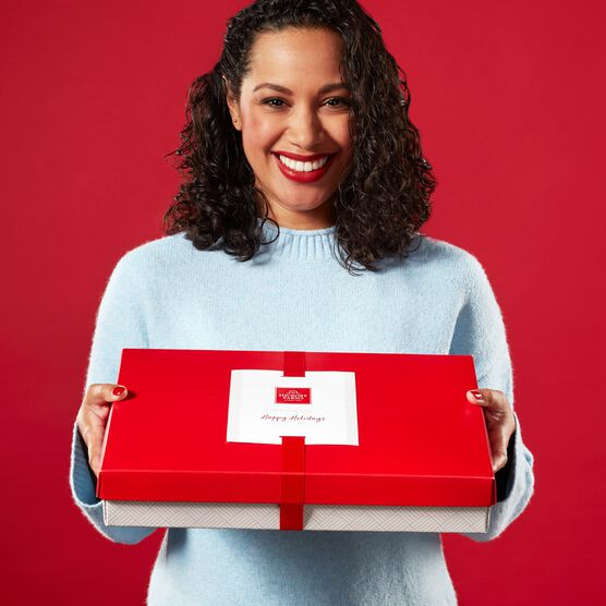 Core Box Mailer Held By Model