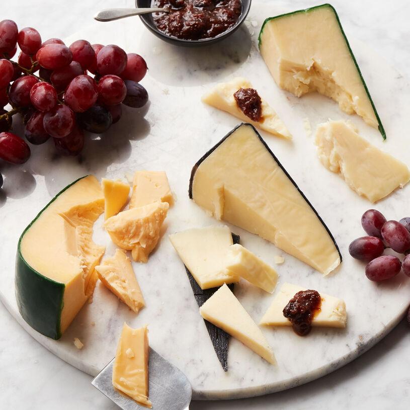 Creamy Gouda, Triple Crème, and Menage cheese
