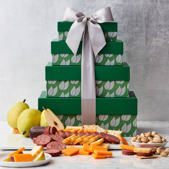 Gluten Free Fruit & Snack Gift Tower Closed Tower