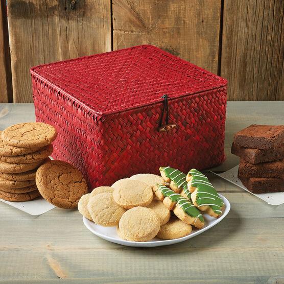 Winter Bake Shop Basket