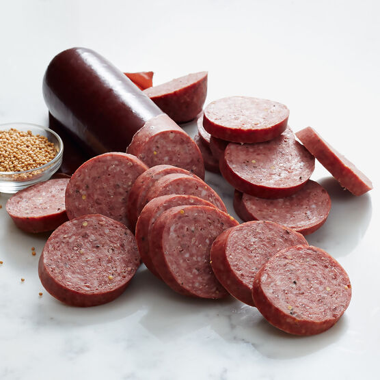 our signature beef summer sausage