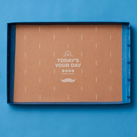 Father's Day Charcuterie & Chocolate Gift Box Lid Interior