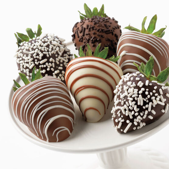 Chocolate Covered Strawberries 6 Ct.