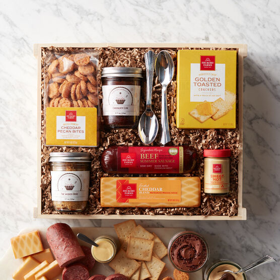 Our Wicked Good Gift Box is the best of botht worlds featuring sweet and savory favorites