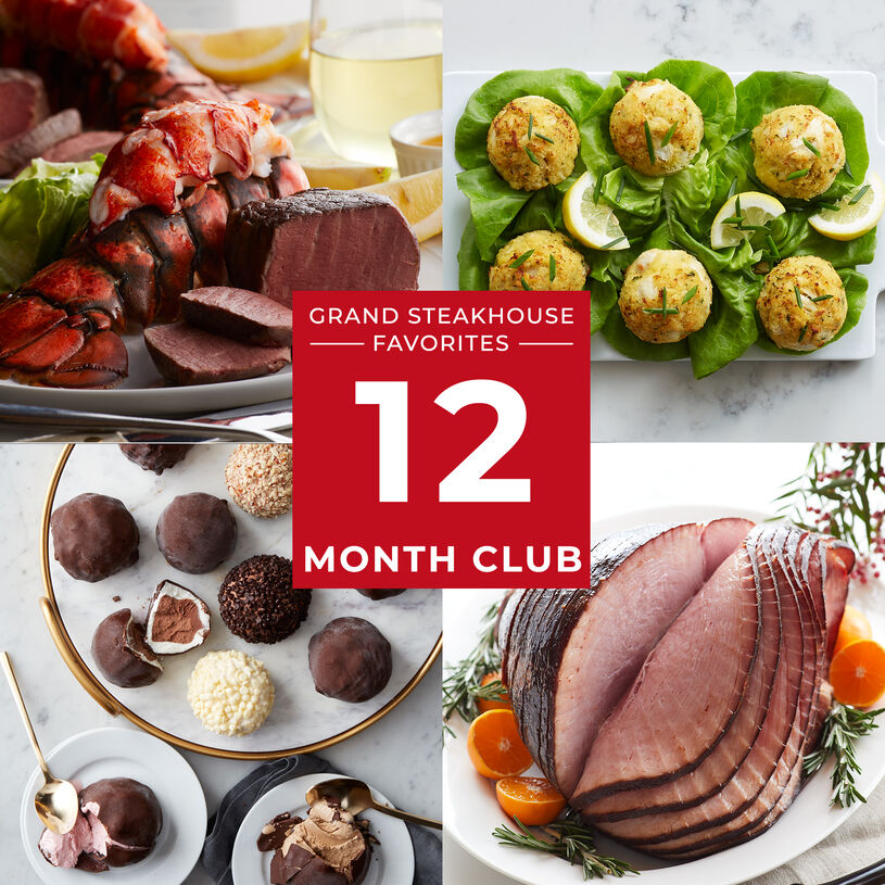 12 Month Grand Steakhouse Favorites Gift Club