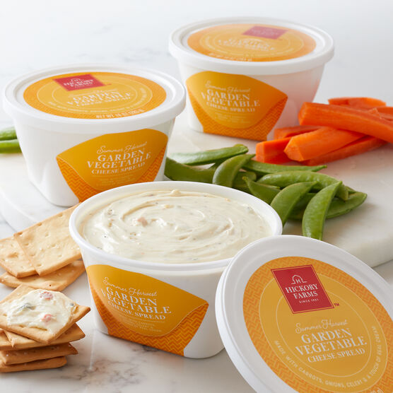 Garden Vegetable Cheese Spread