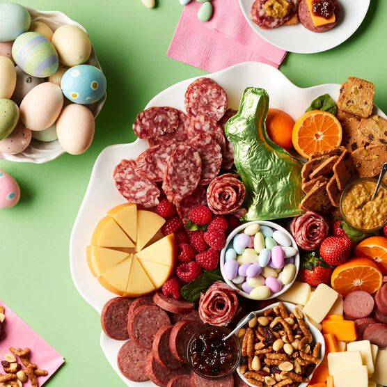 Easter Premium Charcuterie and Sweets Gift Box Charcuterie Spread