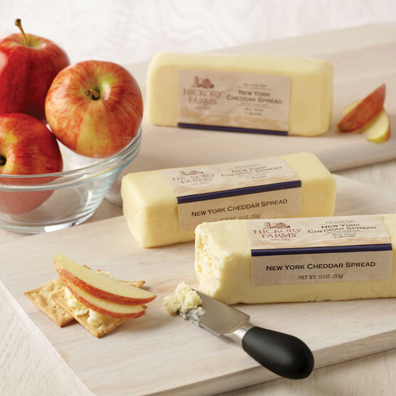 Gluten free food appetizers gift baskets hickory farms hickory farms new york cheddar spread negle Images
