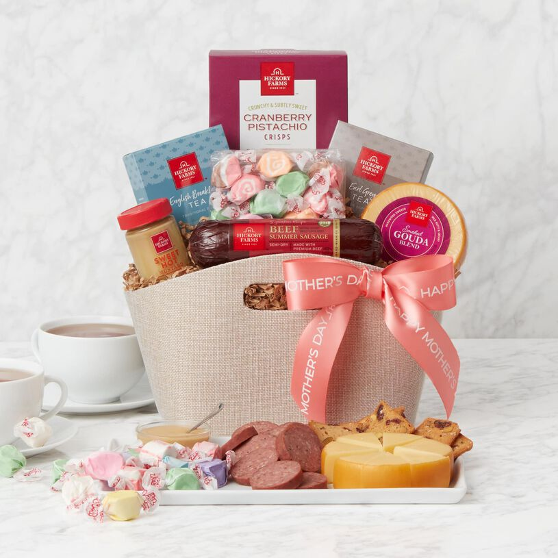 Mother's Day Tea Party Gift Basket