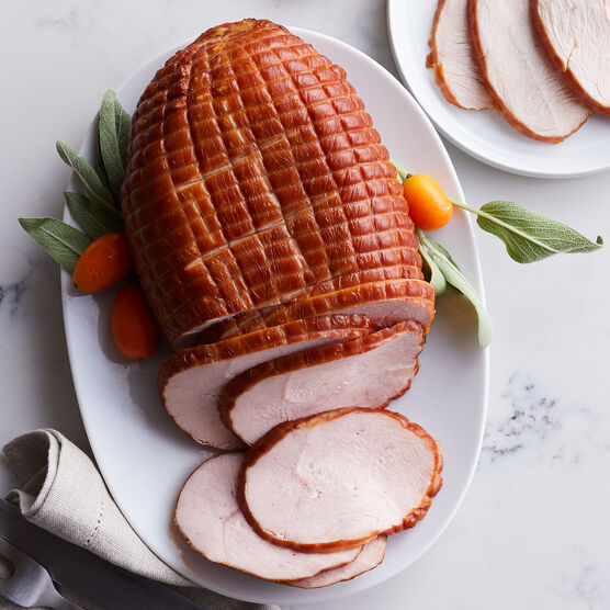 This delicious smoked turkey breast is perfect for white-meat lovers or smaller holiday gatherings. It's tender, moist, and fully cooked.