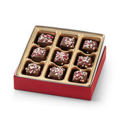 9 count dark chocolate peppermint meltaways