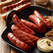 Our Classic Bratwursts are made with a savory blend of pork and beef and a bold, smoky flavor.