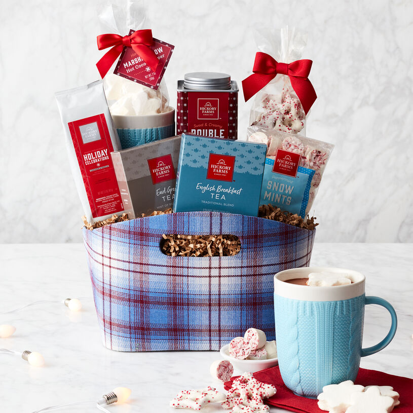 Warm & Cozy Holiday Gift Basket