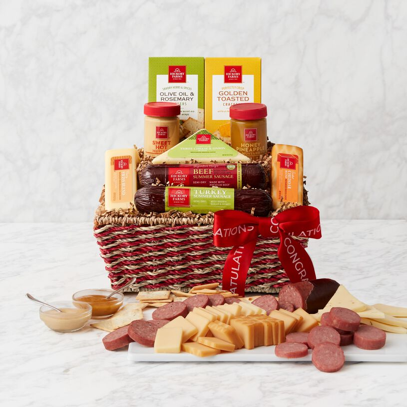 Congratulations Signature Bites Gift Basket