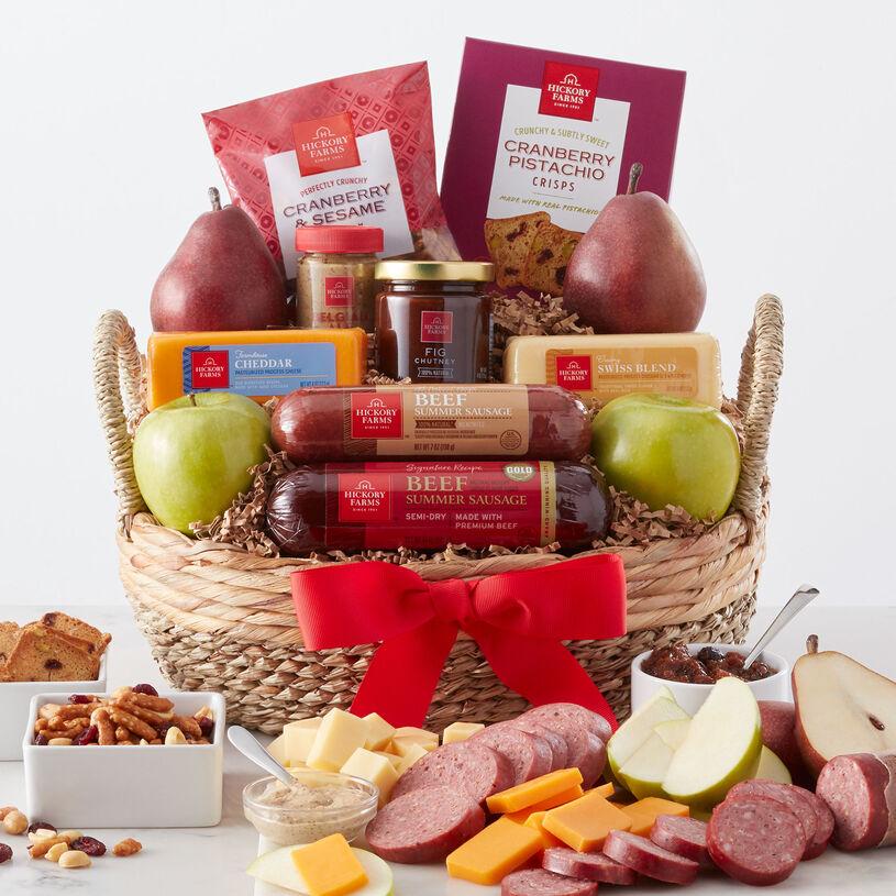Fruit & Snack Gift Basket | Hickory Farms