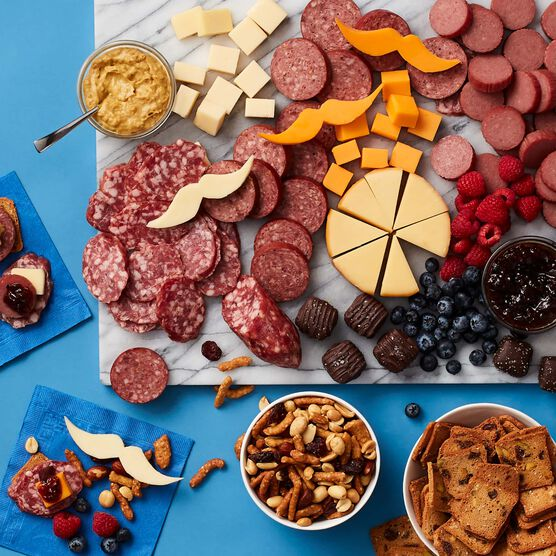 Father's Day Charcuterie & Chocolate Gift Box Charcuterie