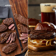 Alternate View of Grand Steakhouse Favorites - 6 Month Plan - Burgers & Steaks