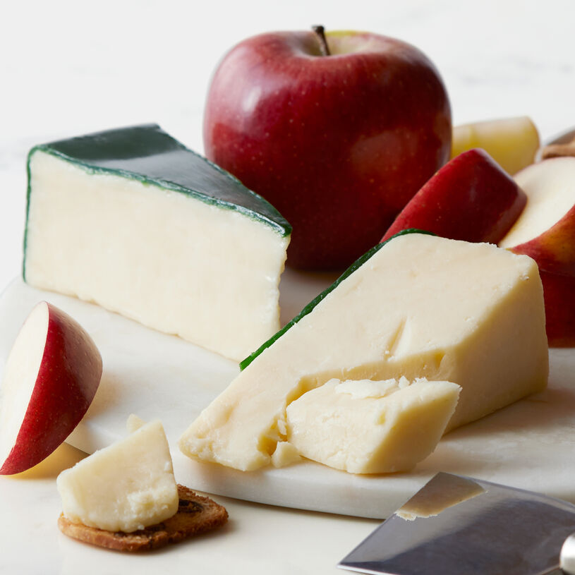 This Spanish-style cheese is crafted with a blend of sheep, goat, and cow's milk for a full-flavored yet creamy taste, and a drier texture.
