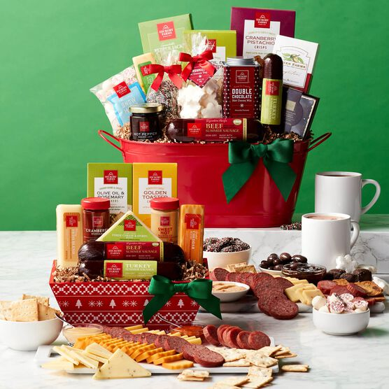 Alternate view of Happy Holidays Gift Basket