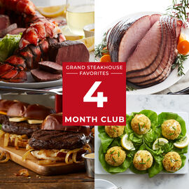 4 Month Grand Steakhouse Favorites Gift Club