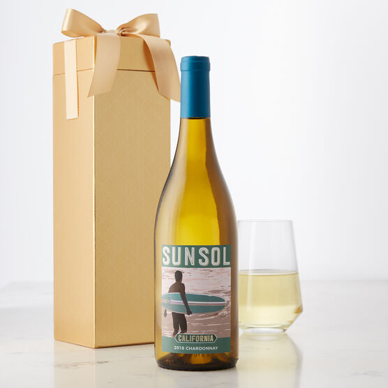 SunSol California Chardonnay White Wine Gift