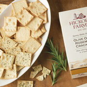 olive oil & rosemary crackers
