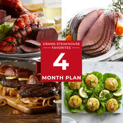 Grand Steakhouse Favorites - 4 Month Plan