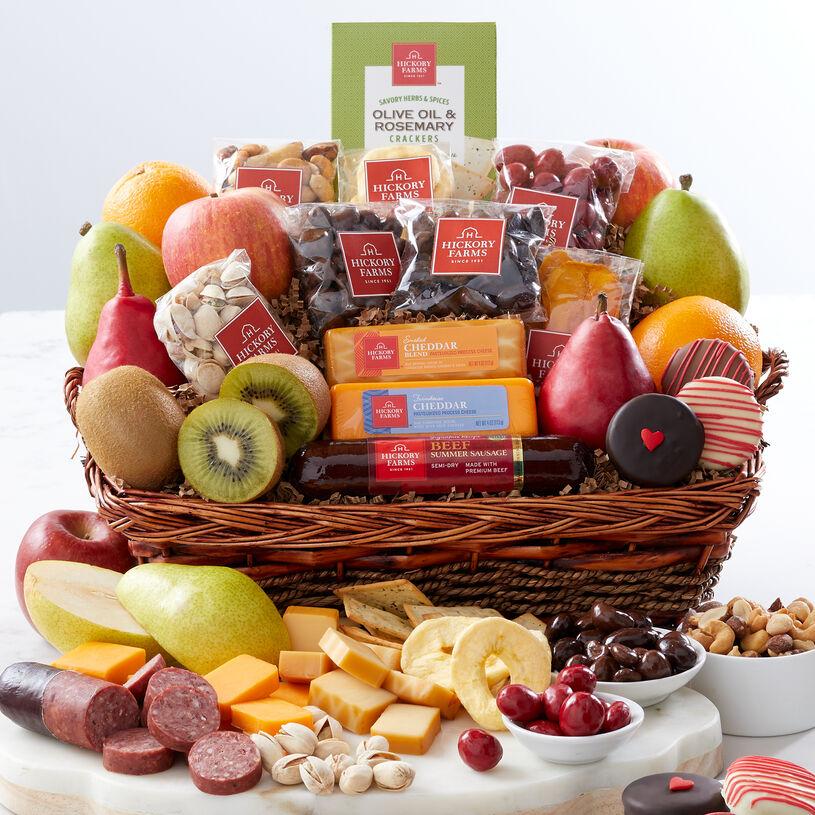 Bountiful Valentine's Day Gift Basket