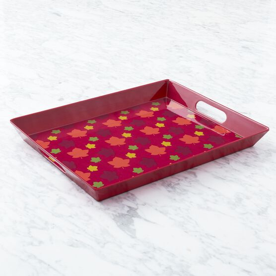 Autumn Entertaining Gift Set Serving Tray Side View