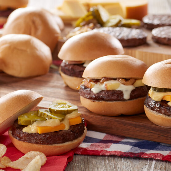 2.67 oz. Ultimate Beef Sliders