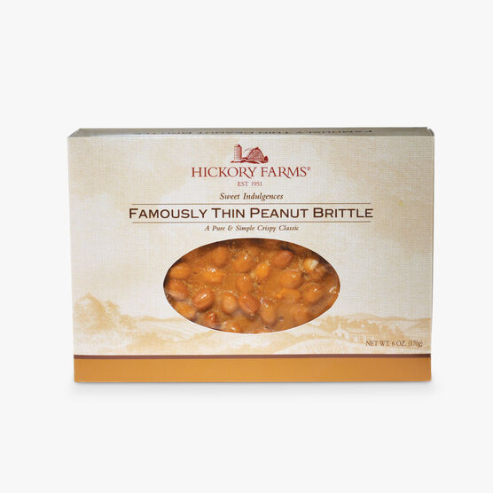 Famously Thin PeanutBrittle 3 Pack