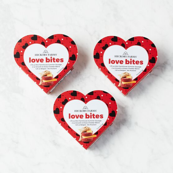 Share the Love Sampler - 3 Pack (3 Heart Shaped Boxes)