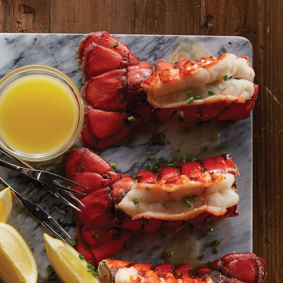 Get a taste of New England with our new cold water Maine Lobster Tails.