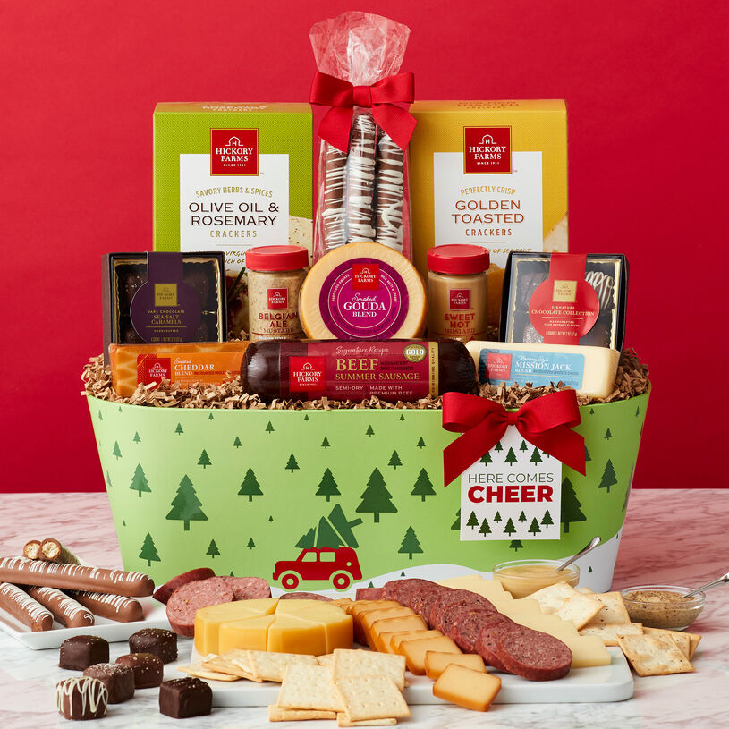 Here Comes Cheer Holiday Gift Basket