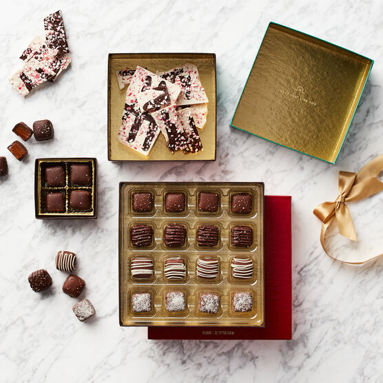 Holiday Chocolates Gift Set Inside Box