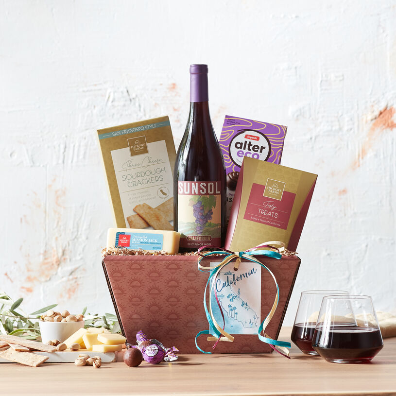 This collection of perfectly curated flavors is a delicious way to share a taste of California.