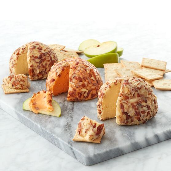 Alternate view of Original Cheese Ball, Swiss Cheese Ball, and Sharp Cheddar Cheese Ball