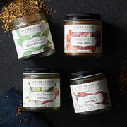 Explore new flavors with this set of four delicious seasoning blends.