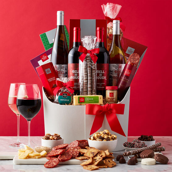 Happiest Holiday Wine Gift Basket